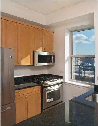 Soho Court rental building Kitchen - NYC Flats