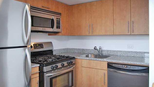 666 Greenwich Street Kitchen - West Village Rental Apartments