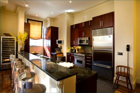 Kitchen at The Beekman Regent 351 East 51st Street New York