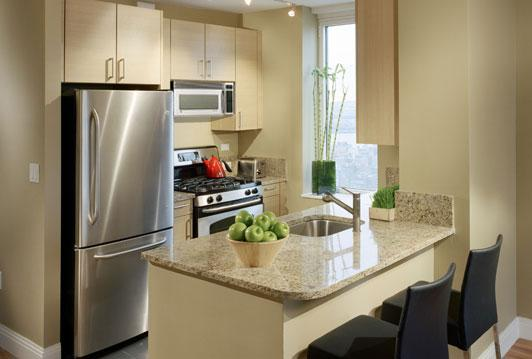 Rental apartments at 125 West 31st Street Kitchen