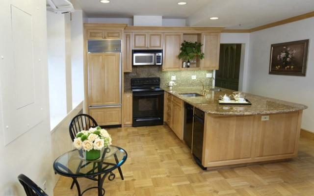 The Waldorf Towers Kitchen - Midtown East  Apartment Rentals