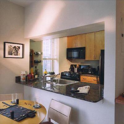 66 West 38th Street Kitchen - Manhattan Rental Apartments
