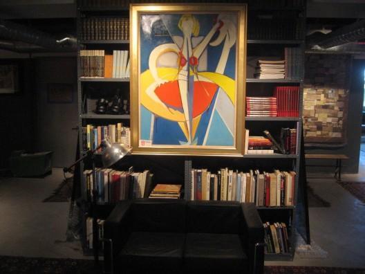 Truffles Tribeca Library - Tribeca Apartment Rentals
