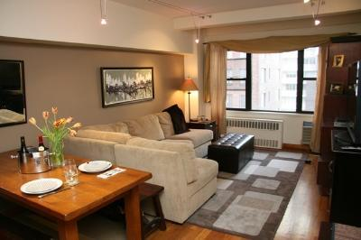 333 East 56th Street Living Room – NYC Rental Apartments