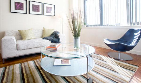 1481 Fifth Avenue Living Room - Harlem Apartment Rentals