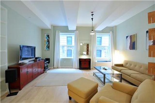 15 Broad Street apartments for rent Living Room View