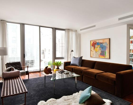 208 West 96th Street Living Room – Manhattan Apartments for rent