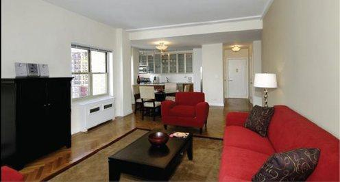 30 Park Avenue Living Room - Murray Hill Apartment Rentals