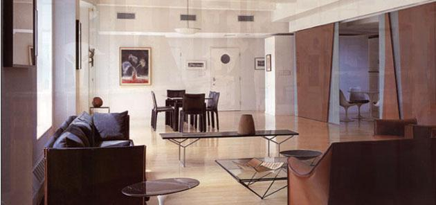 45 Wall Street apartments Living Room