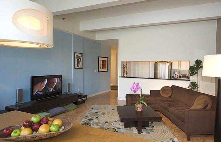 50 Murray Street apartments Living Room