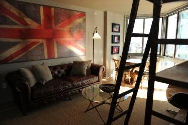 Living Room of 46-15 Center Boulevard - LIC Rental Apartments