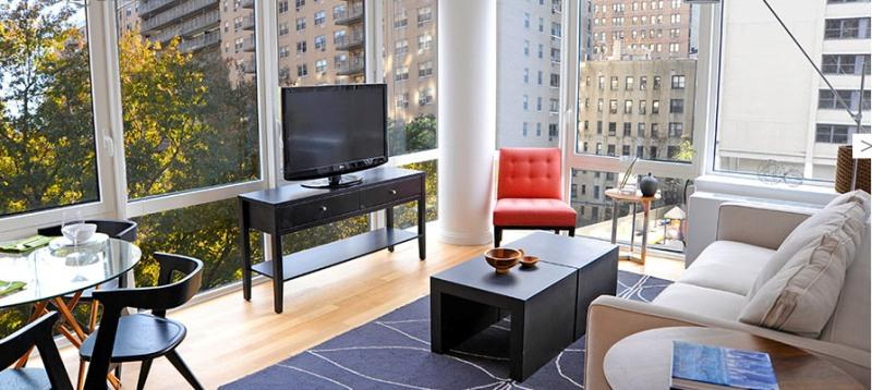 775 Columbus Avenue Living Room - Manhattan Apartments for rent