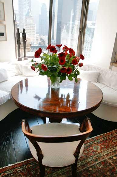 800 Fifth Avenue Living Area -  Manhattan Rental Apartments