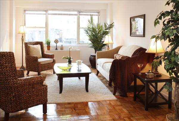 London House Living Room - Manhattan Apartments for rent