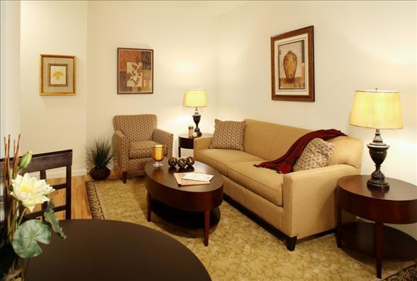 50 West 77th Street Living Room – NYC Rental Apartments