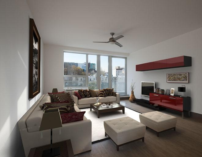 Living Room of 5-43 48th Avenue - LIC Rentals