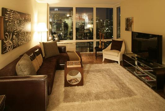 The Epic apartments Living Room