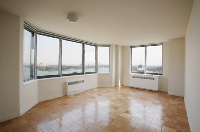 The Hamilton rental building Living Room - NYC Flats