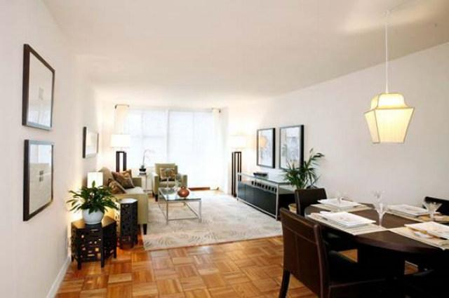 1365 York Avenue Living Room - Upper East Side Rental Apartments