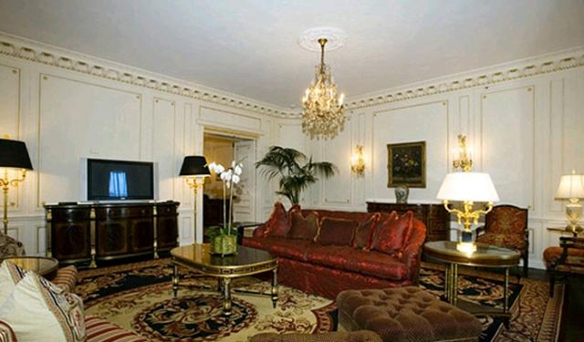 Living Room at The Waldorf Towers 100 East 50th Street Manhattan