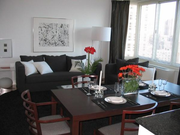 Grand Tier rental buildings Living Room - NYC Flats