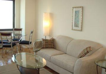 124 West 60th Street  Living Room - NYC Rental Apartments