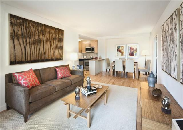 245 East 124th Street Living Room – NYC Rental Apartments