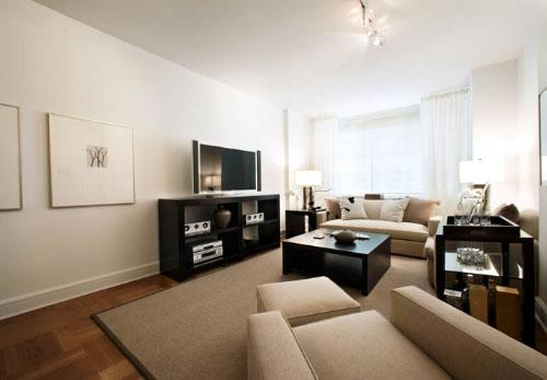 The Ashley apartments for rent Living Room