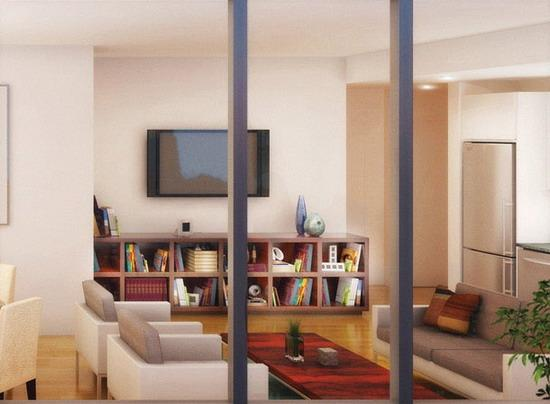 105 West 29th Street Living Room – Chelsea Rental Apartments