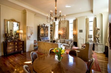 The Beekman Regent apartments Living Room