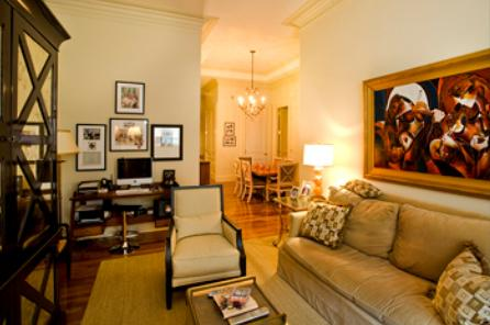 The Beekman Regent apartments for rent Living Room