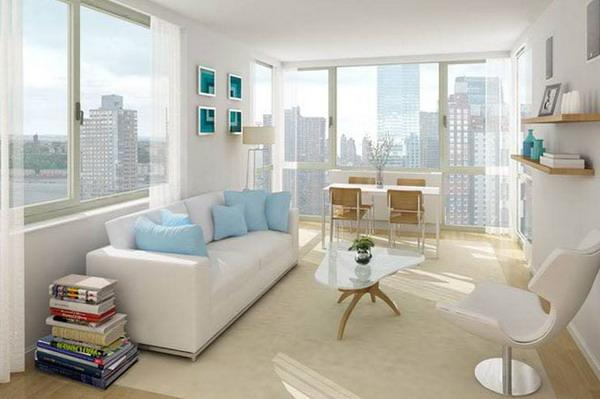 Townsend Living Room – Manhattan Apartments for rent