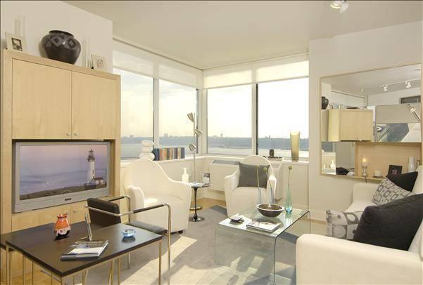 Trump Place apartments Living Room