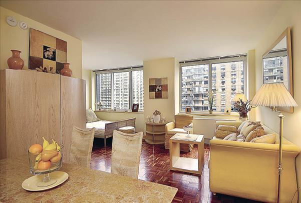 Trump Place apartments for rent Living Room View