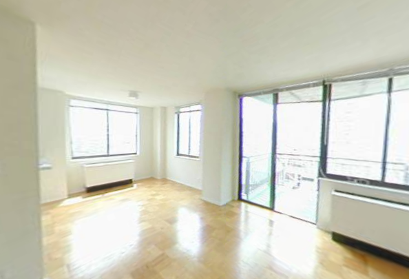 Gracie Mews rental building Living Room - NYC Flats