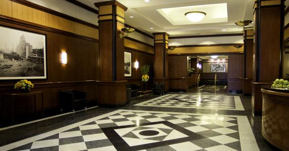 One Colubmus Place Lobby - Manhattan Apartments for rent