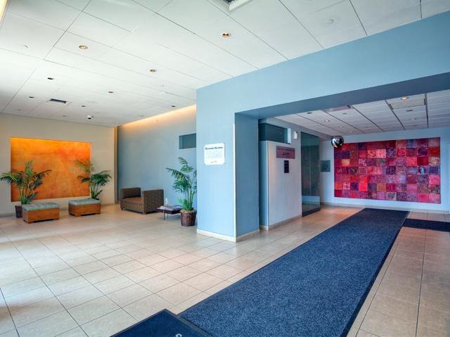 Lobby of Avalon Riverview - LIC Rental Apartments