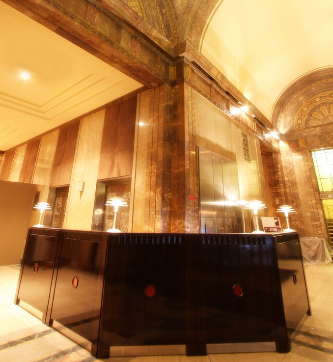 20 Exchange Place Lobby - Manhattan Apartments for rent