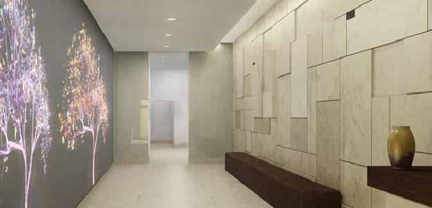 34 Leonard Street Lobby - Tribeca Apartment Rentals