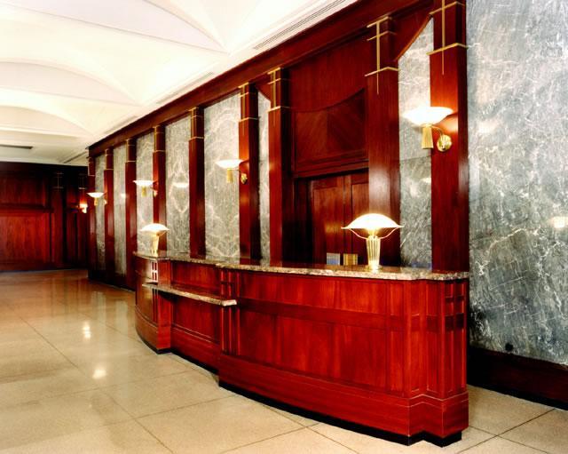 45 Wall Street Lobby - NYC Rental Apartments