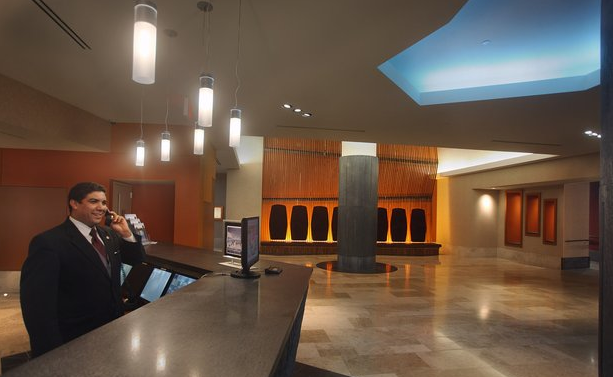 Lobby of 47-05 Center Boulevard - Long Island City Rental Apartments