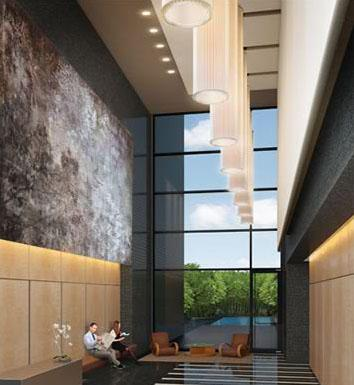 AIRE Lobby – Upper West Side Apartment Rentals