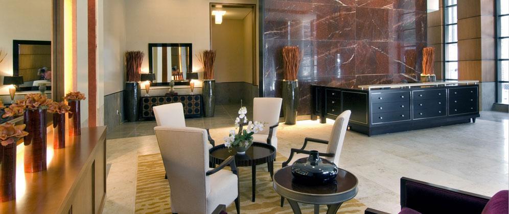 Avalon Clinton rental building Lobby - NYC Flats