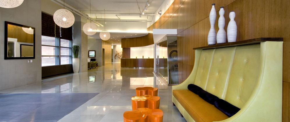 510 West 52nd Street Lobby - Manhattan Rental Apartments