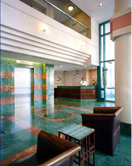Manhattan Park Lobby - Roosevelt Island Apartment Rentals
