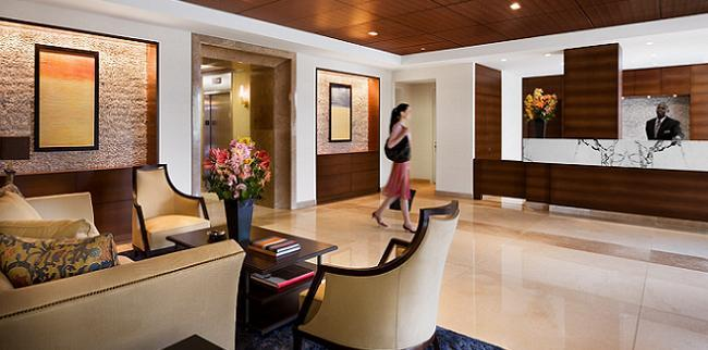 415 Main Street Lobby - Roosevelt Island Rental Apartments
