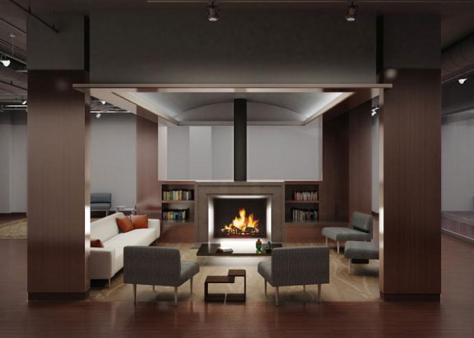 2 Cooper Square Lounge - Manhattan Apartments for rent