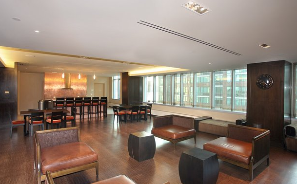 Lounge at The Club - LIC Rental Apartments