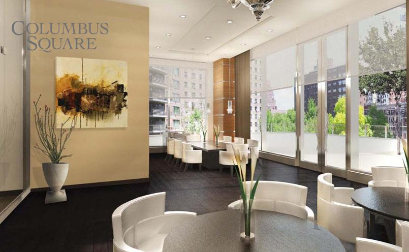808 Columbus Square Lounge - Manhattan Rental Apartments