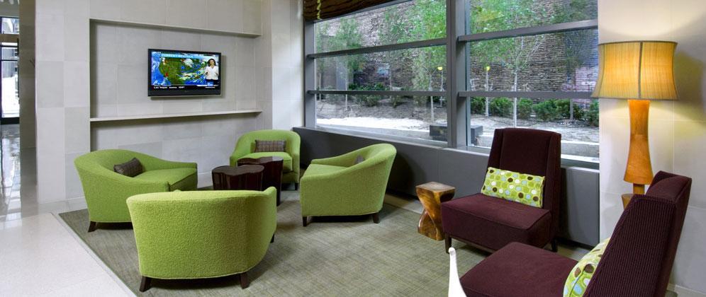 Avalon Clinton rental building Lounge - NYC Flats